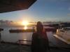 Sonnenuntergang auf dem Schiff 3